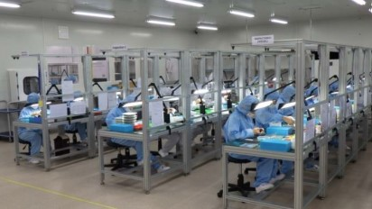 東海電子フィリピン工場内